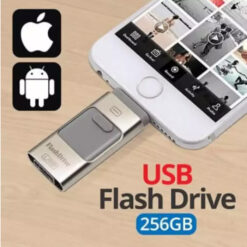 2 In 1 OTG Flash Drive For IOS & Android - 256 GB