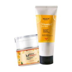 Muicin Vitamin C Foundation & Clean up Face Wash