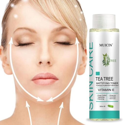 Muicin Skin Care Tea Tree Toner With Vitamin E 300 ML