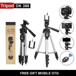 Mobile Tripod With Bluetooth Wireless Remote Shutter DK3888