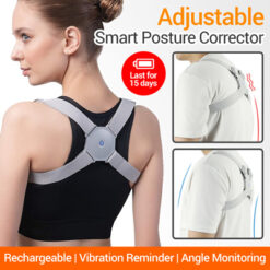 Posture Corrector For Back USB Rechargeable Intelligent Sensor With Vibration Vibration