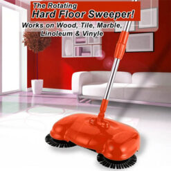 Roto Swing Sweep! The Rotating Hard Floor Sweeper