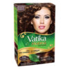 Vatika Henna Dark Brown Hair Color 60g (6 Sachets) Ammonia Free