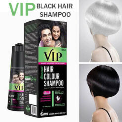 Vip Hair Colour Shampoo 180 ML Black Color