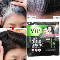 Vip Hair Colour Shampoo 20 ML Black Color