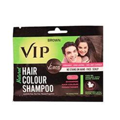 Vip Hair Colour Shampoo 20 ML Brown Color