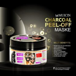 MUICIN CHARCOAL PEEL OFF MASK 300g