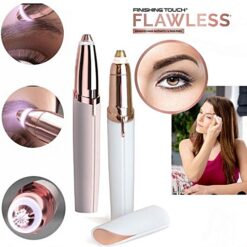 Finishing Touch Flawless Brows Hair Remover Face Eyebrow LED Light