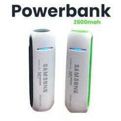 Portable Power Bank 2600 mah