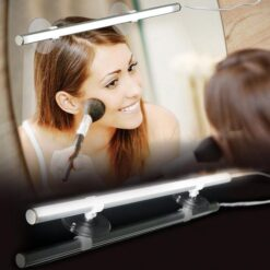 Beauty Bright Instant Vanity Lighting Dimmable LED Mirror Light As Seen On TV