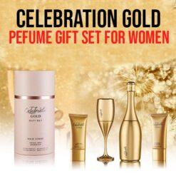 Celebrate Gold Perfume Gift Set For Women
