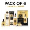 Dr Rashel 24K Gold Radiance & Anti Aging Series - Pack Of 6