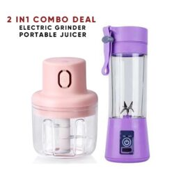 Combo Deal Electric Grinder & Portable Juicer