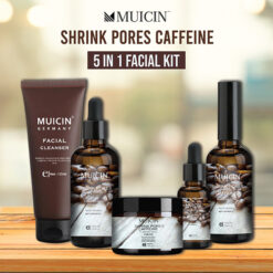 MUICIN SHRINK PORES CAFFEINE 5 IN 1 FACIAL KIT