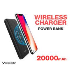 Veger Wireless Charger Power Bank
