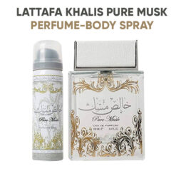 Lattafa Khalis Pure Musk for Men and Women EDP 100ml + Body Spray