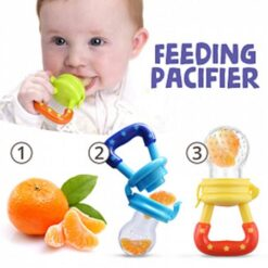 Baby Fruit Pacifier Feeder Toy 2 PCs Pack