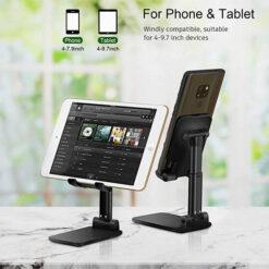 Fully Foldable Desktop Phone Holder Cradle Dock Holder