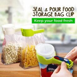 Seal & Pour Food Storage Bag Cup 2