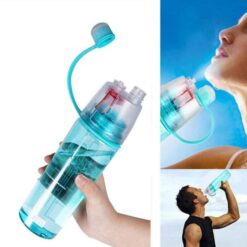 Wide Mouth Colorful Water Bottles 600 ML (3)