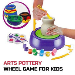 Arts Pottery Wheel Game for Kids, Game and Learn Educational Toy (1)