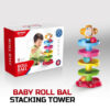 Huanger – Baby Roll Ball Stacking Tower Ramp Puzzle for Toddlers