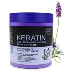 Lavender Keratin Hair Care Balance Hair Mask & Hair Treatment for Healthy Scalp 1000 ml (1)