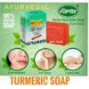Pyary Acne Removing Ayuverdic Turmeric Soap (3)