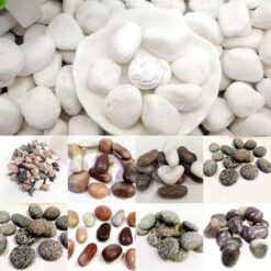 Natural Stones For Fish Tank or Table Decoration 1 KG Pack