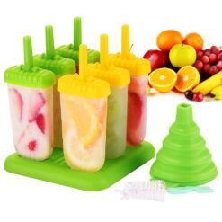 Popsicle Molds 6 Set for ice cream Multicolors (3)