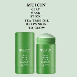 MUICIN TEA TREE CLAY MASK STICK 40G