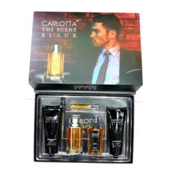 Carlotta the Scent Black Gift Set for Men