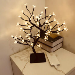 Cherry Blossom USB LED Lamp for Indoor & Home Decor