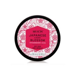 MUICIN JAPANESE CHERRY BLOSSOM STRAWBERRY KISS BODY CREAM 200 ML