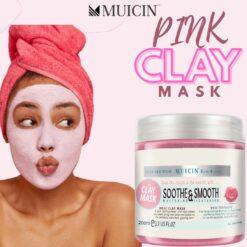 MUICIN PINK CLAY MASK (4)